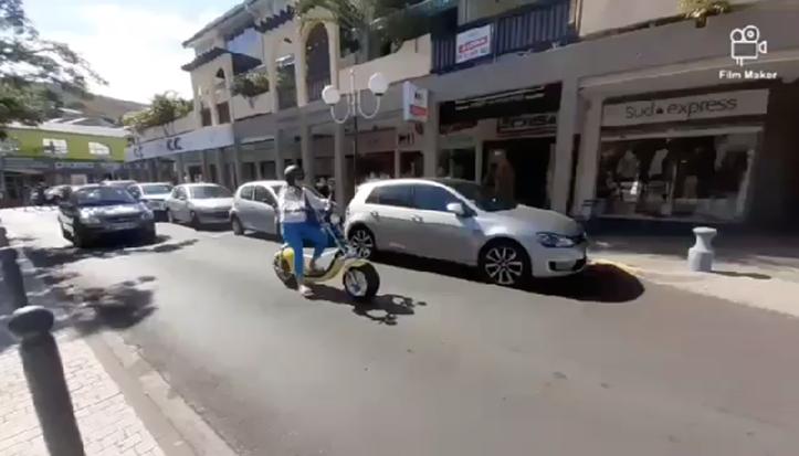 Micro-mobilité à La Réunion - scooter électrique Woolib-Run