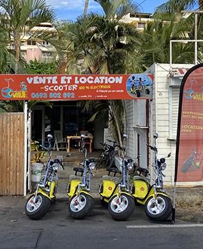 Locations de scooters électrique Saint-Gilles-les-Bains