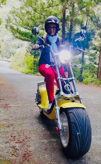 Eco-tour en scooter électrique proposé par Woolib-Run
