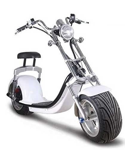Woolib-Run : scooter électrique Chopper One blanc