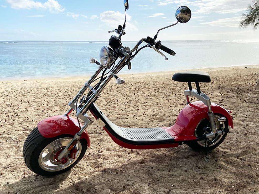 Woolib scooter électrique Chopper One rouge