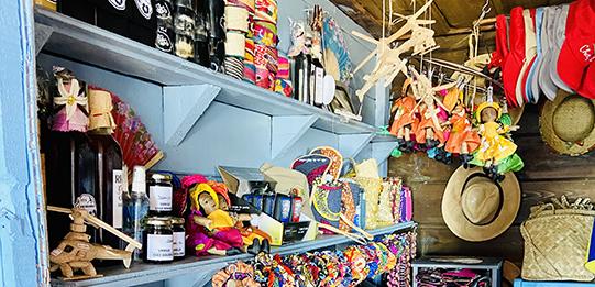 Woolib-Run : L'artisanat en vente dans la Gargotte