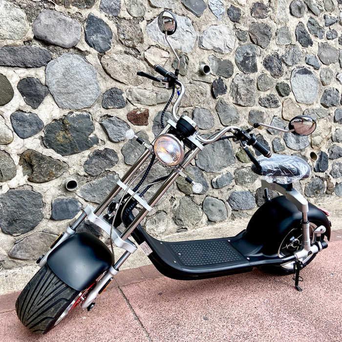 Woolib Chopper One noir mat