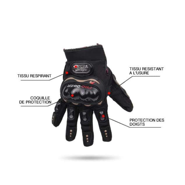 Gants Pro Grip Woolib - qualités