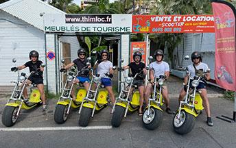 Location scooter 100 % électrique