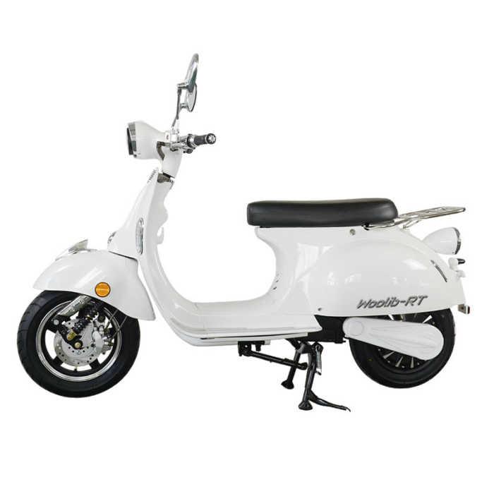 Scooter électrique Woolib RT blanc
