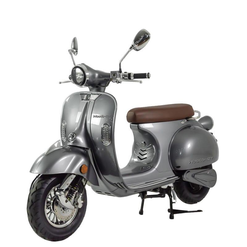 Scooter électrique Woolib RT gris anthracite